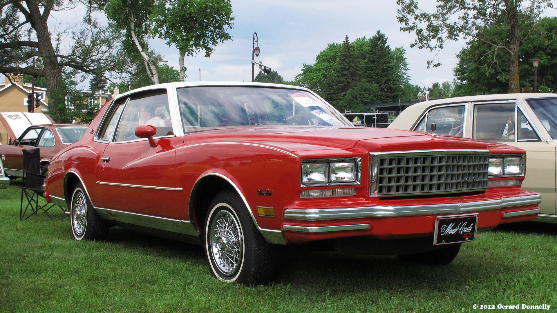 Chevrolet Monte Carlo Chevrolet Monte Carlo Monte Carlo Chevrolet