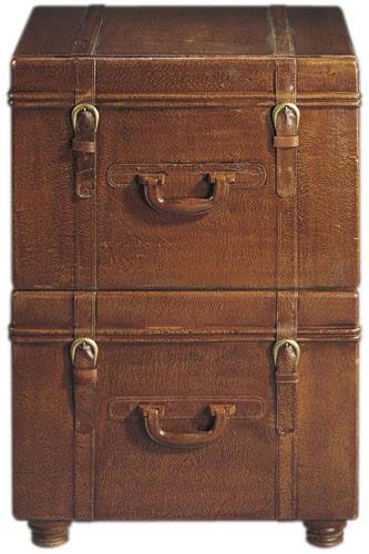 Leather Suitcase File Cabinets | For the Love of Colonial ...