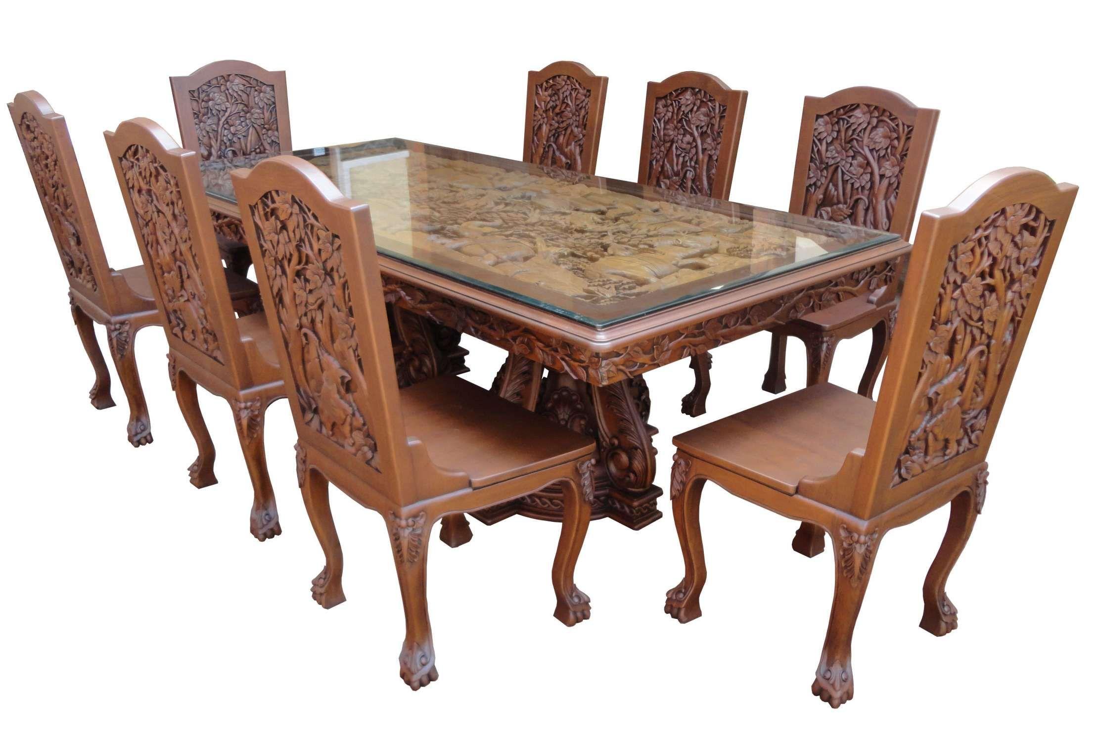 29++ Mahogany wood dining set Best Seller