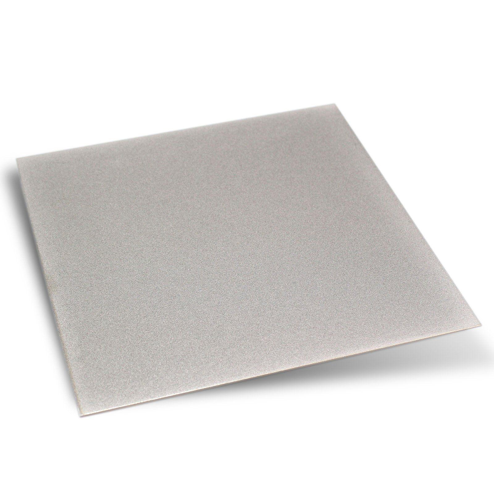Jingling 6x6 Thin Square Sheet Flat Diamond Stone Sharpeners Grit 240 For Lapidary Knives Color Silver For More Details Ch Sharpeners Diamond Stone Lapidary