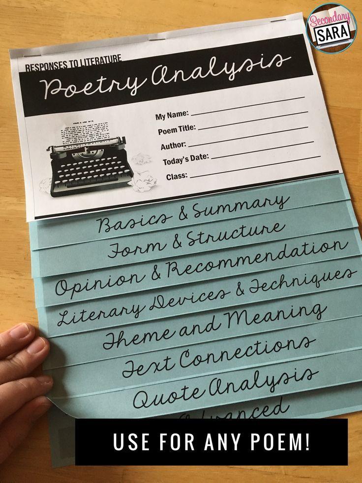 english poem analysis