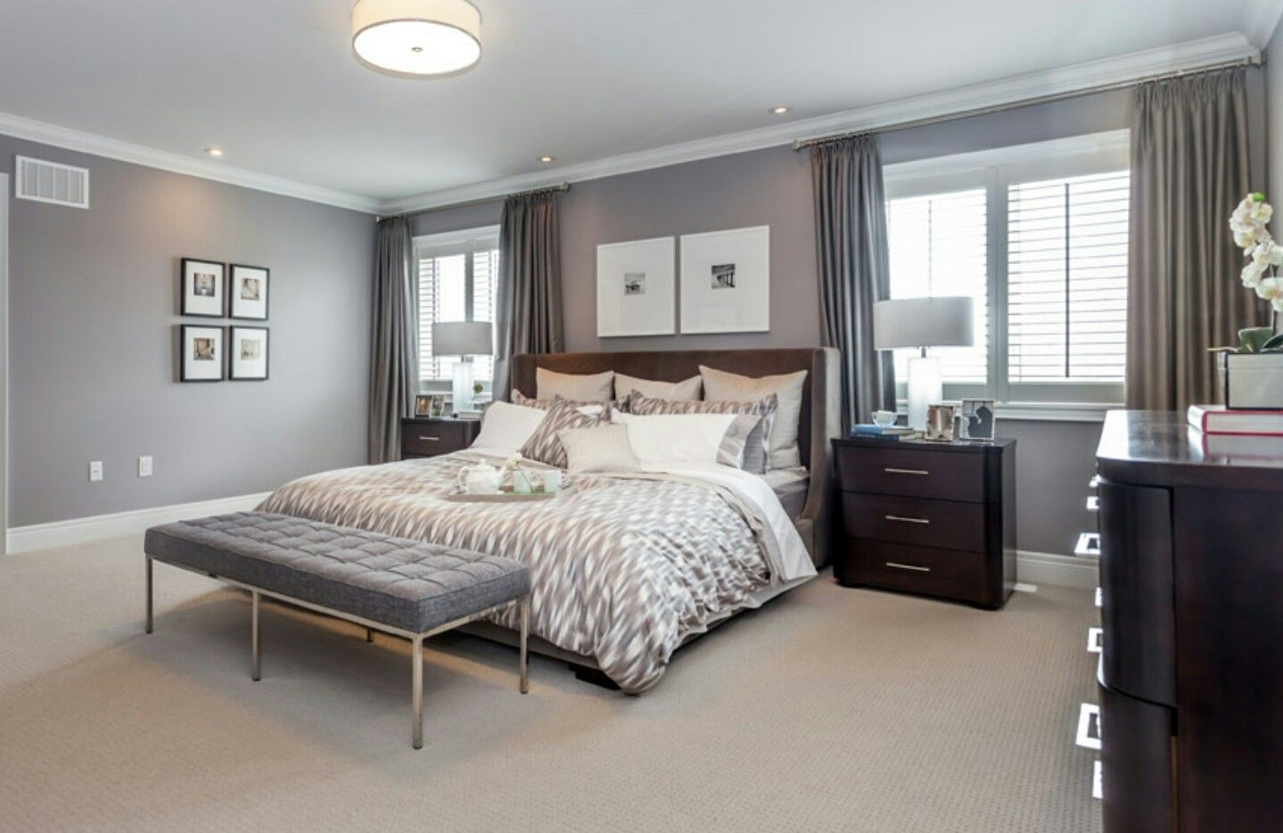 Pin By Amber Taylor On Household Projects Luxury Bedroom Master