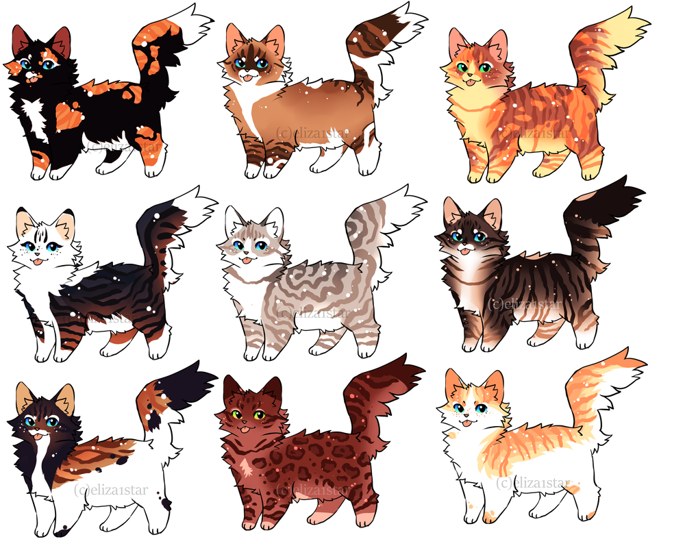 Cat Adopts 11 300pts 3 Open By Chintzy Adopts On Deviantart