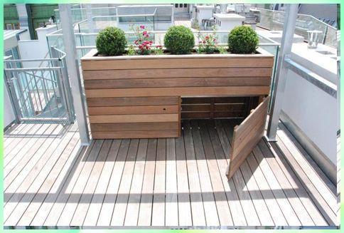 Hochbeet Mit Stauraum Gartengestaltung Ideen In 2020 Backyard Fence Decor Backyard Fences Fence Design