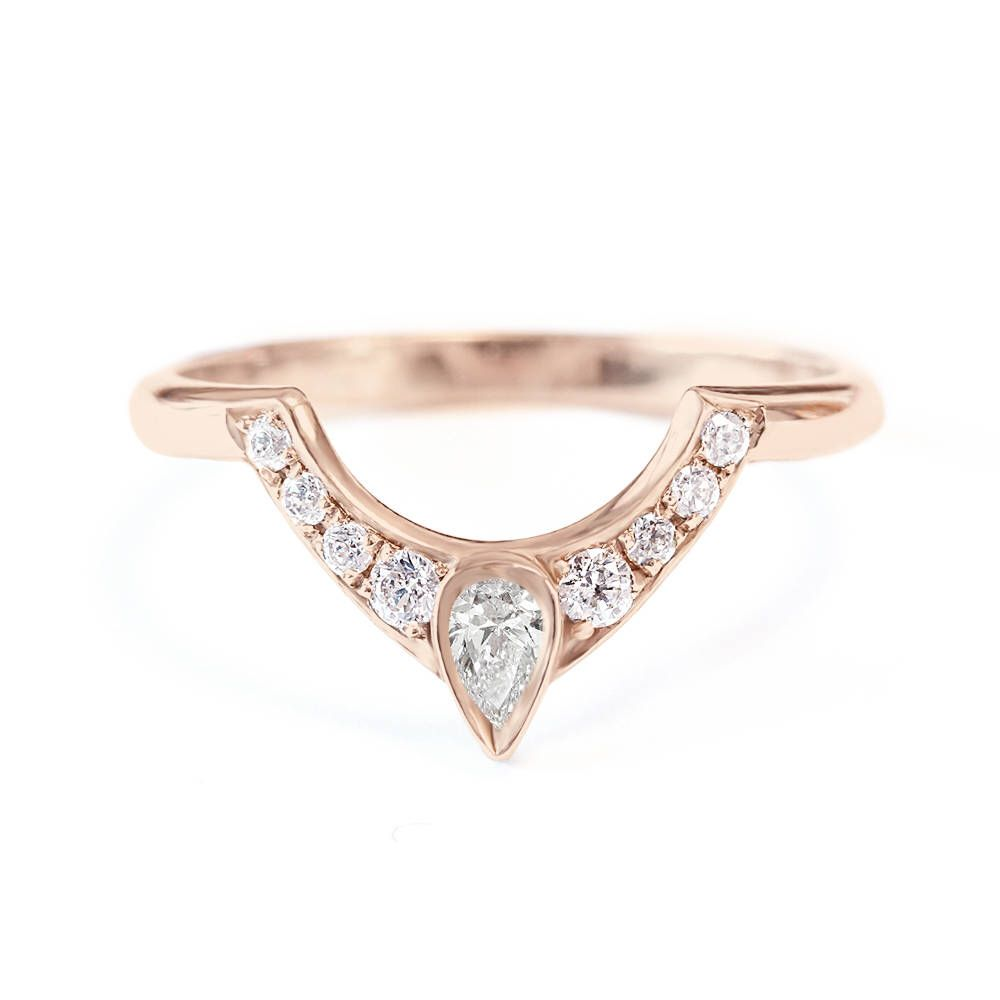 rings diamond band side the eye matching media engagement pear shaped ring with wedding
