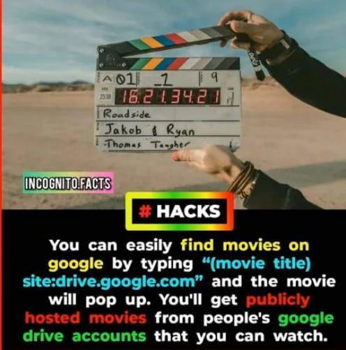 Movie Hack In 2020 Movie Hacks Fun Facts Movies