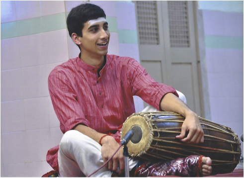 Aditya Ganesh hails from a family of musicians and dancers