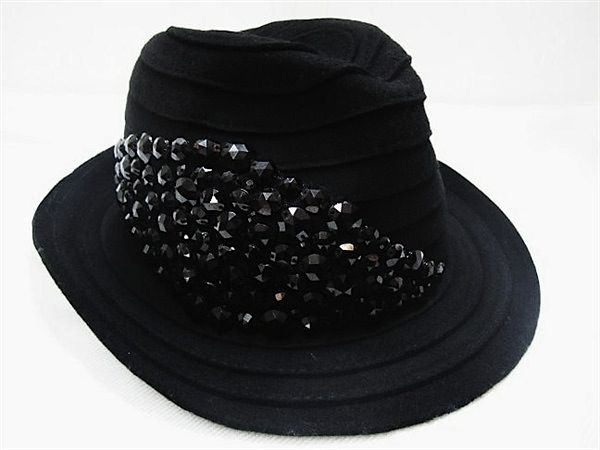 DIGS Crystal Wool Fedora #black #crystal #fedora #hats #blackhat