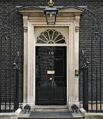 High gloss black door. FAV