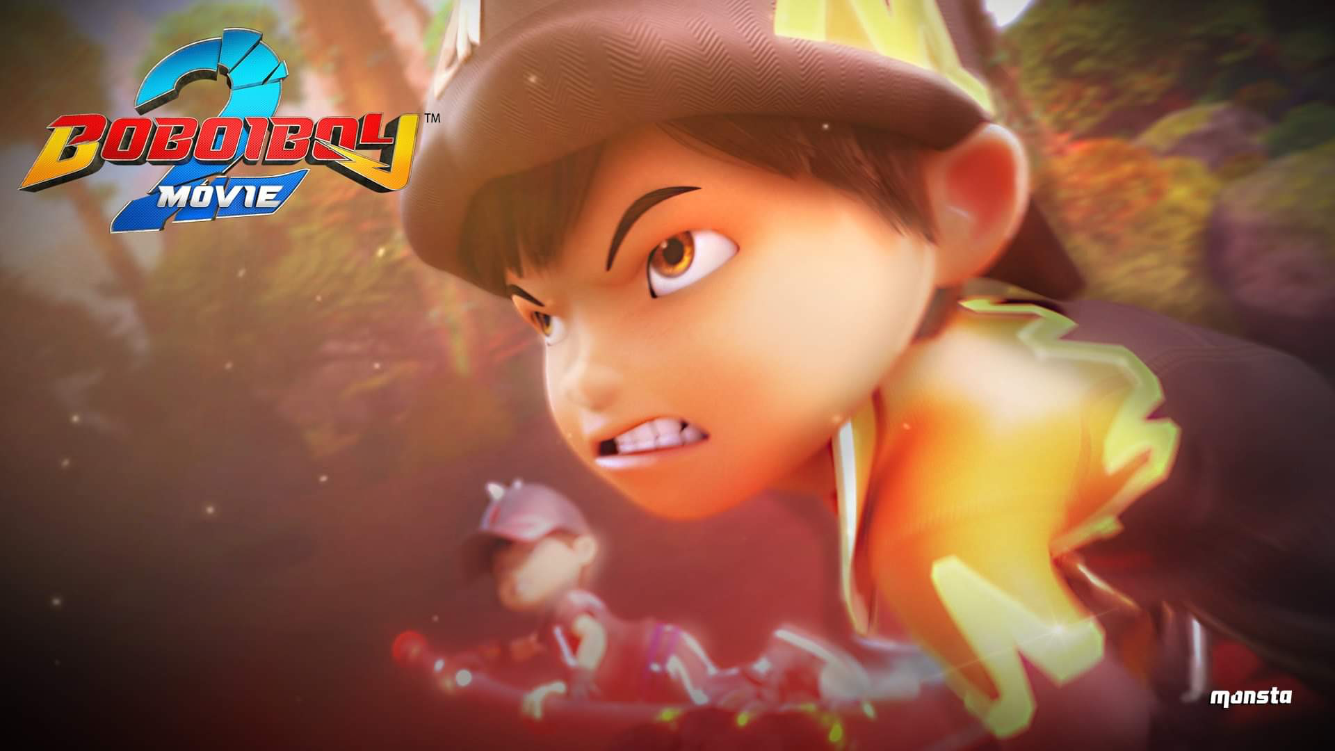 Boboiboy Movie 2 Wallpaper Bbbm2 Kartun Animasi Seni