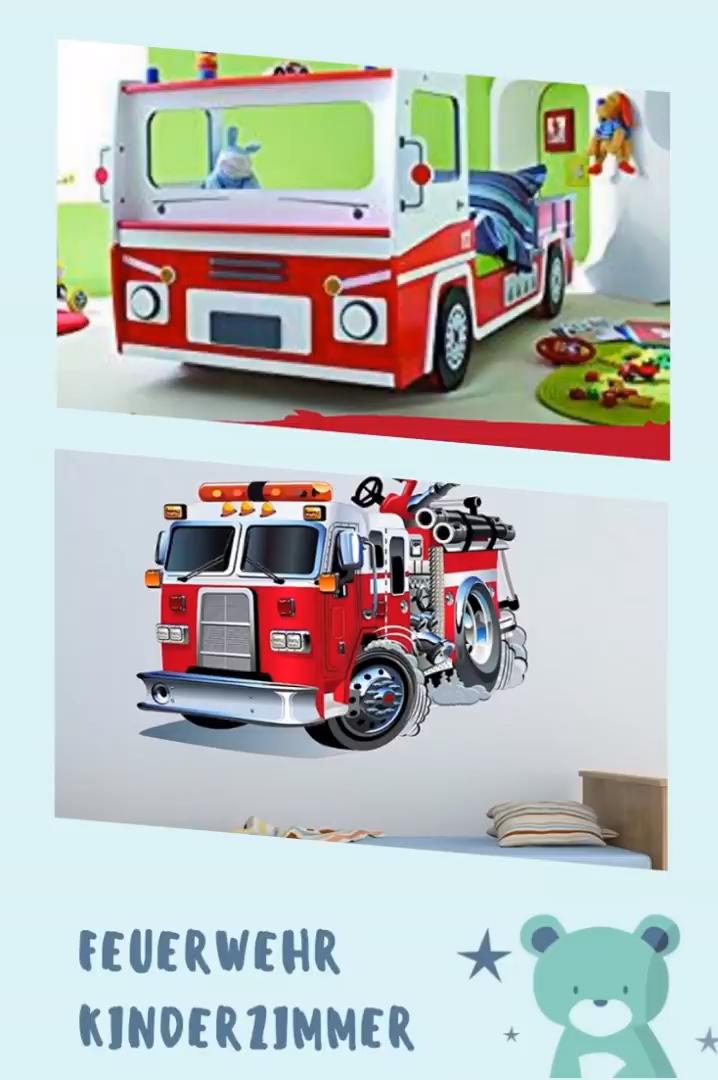 Feuerwehr Kinderzimmer Mobel Und Deko Video Kinderzimmer Mobel Kinder Zimmer Kinderzimmer
