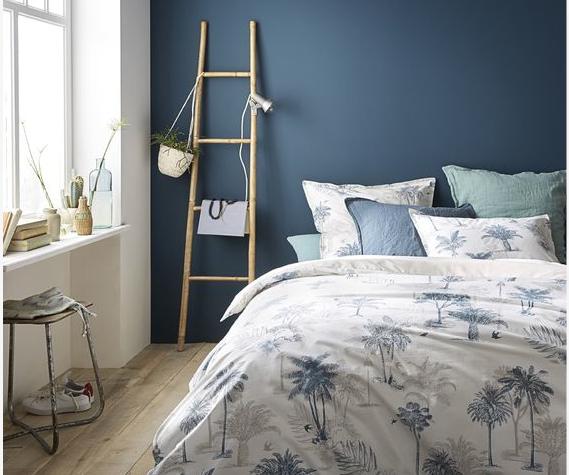 choisir le bon mur peindre et ou d corer dans la pi ce murs bleus blog deco et le blog. Black Bedroom Furniture Sets. Home Design Ideas