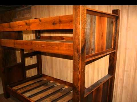 Rustic Bunk Beds By Viennawoodworkscom We Make Twin Over Twin