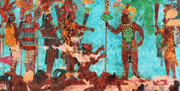 Chiapas Y Bonampak Pinturas Arte Nativo Americano Y Produccion