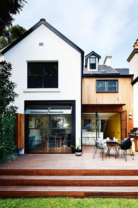 backyard-timber-deck-jun15 Home Pinterest Casas, Futura casa