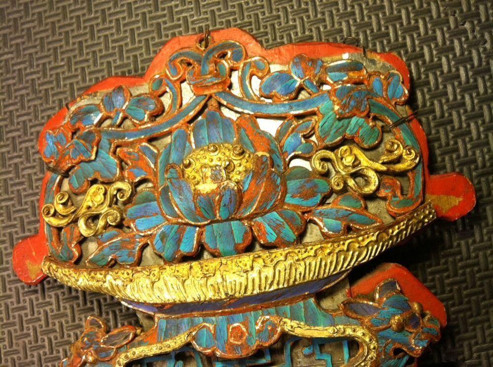 Chinese Royal Kingfisher Bird FEATHERS ON METAL Art Rare