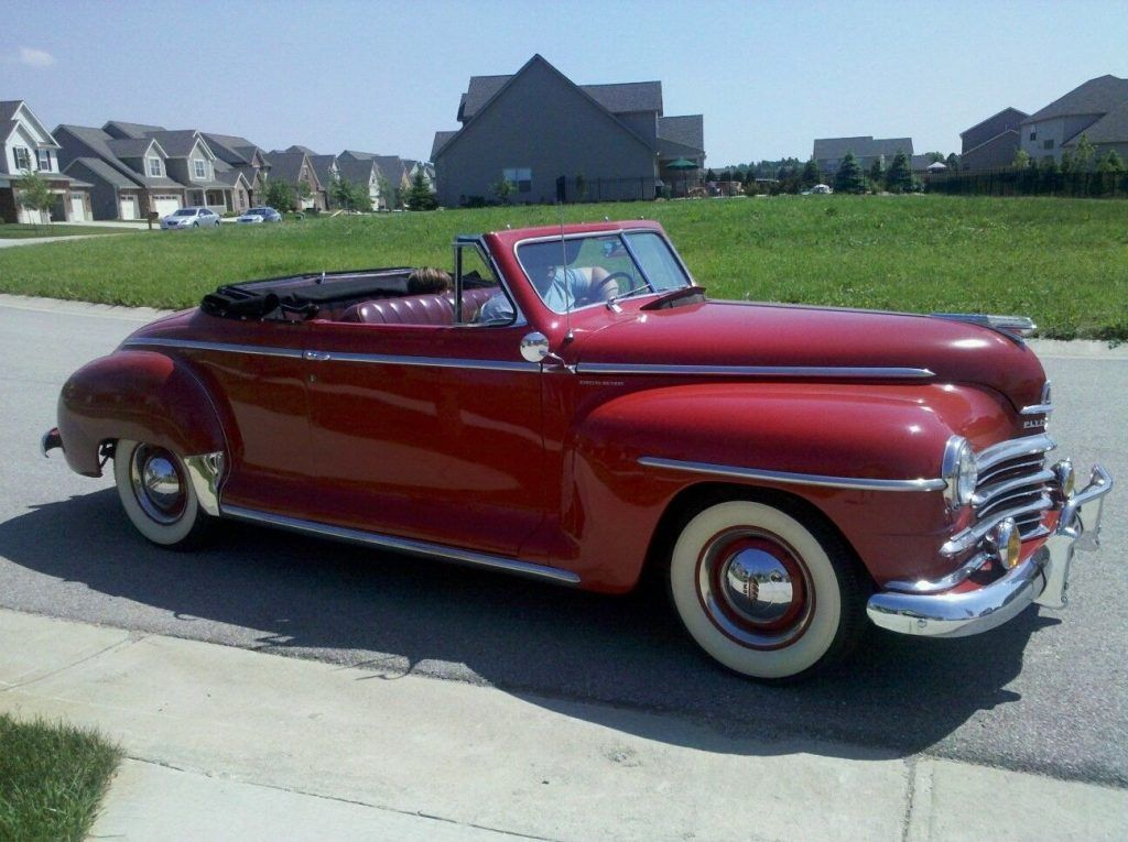1947 Plymouth Special Deluxe Convertible | American cars for sale ...