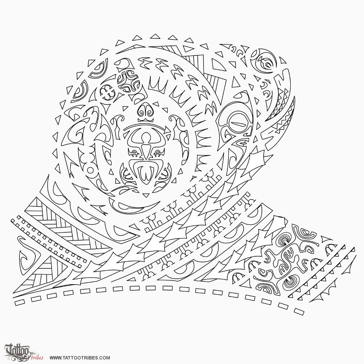 fighter half sleeve 1200 1200 polynesian stencils pinterest maori. Black Bedroom Furniture Sets. Home Design Ideas