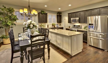 Toll Brothers Open Kitchen At Damonte Ranch In Reno, NV. Www.tollbrothers.