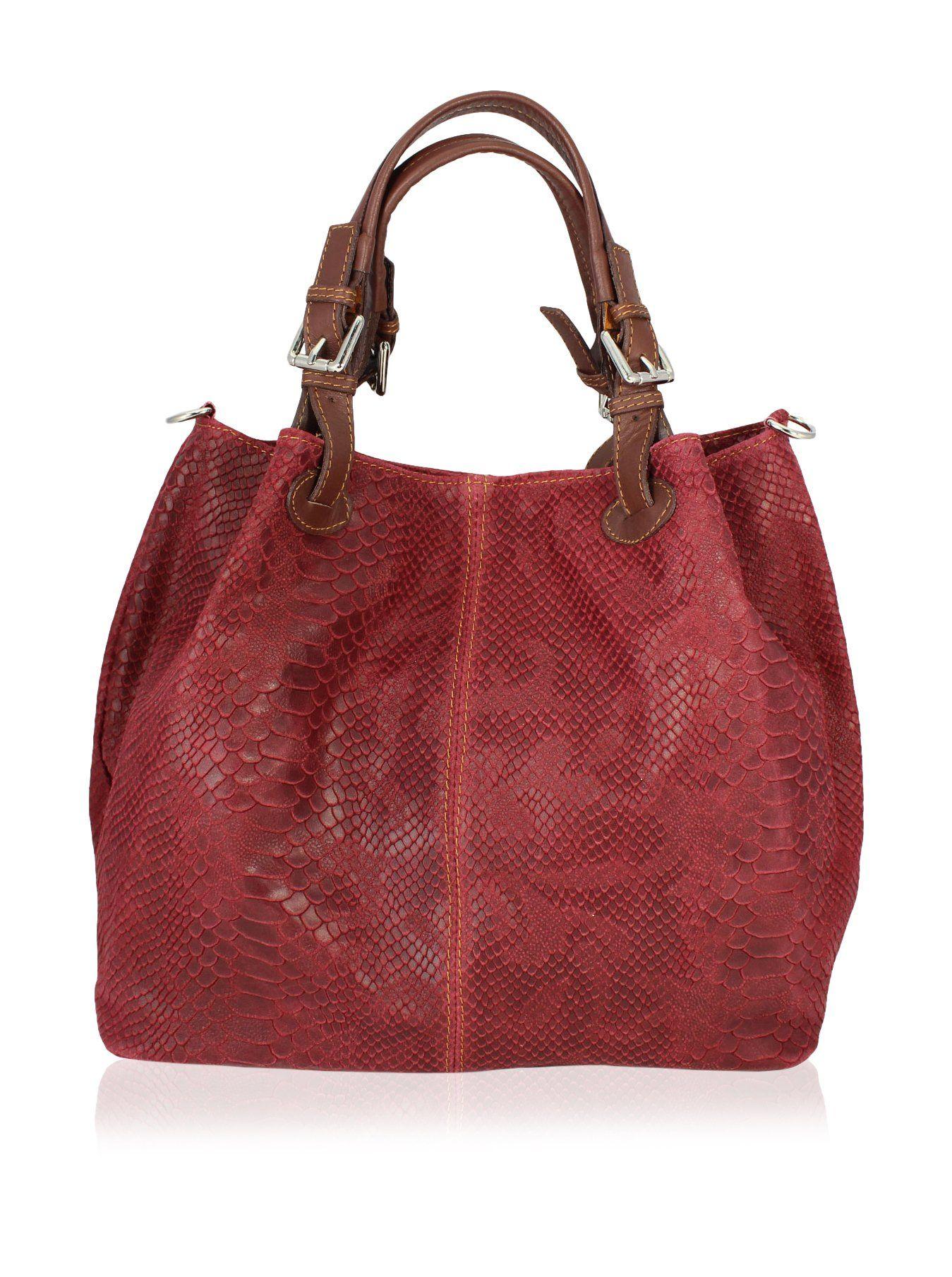 Precio de fábrica 2019 comprar bien color atractivo Stella Dutti Bolso asa de mano Rojo Única en Amazon BuyVIP ...