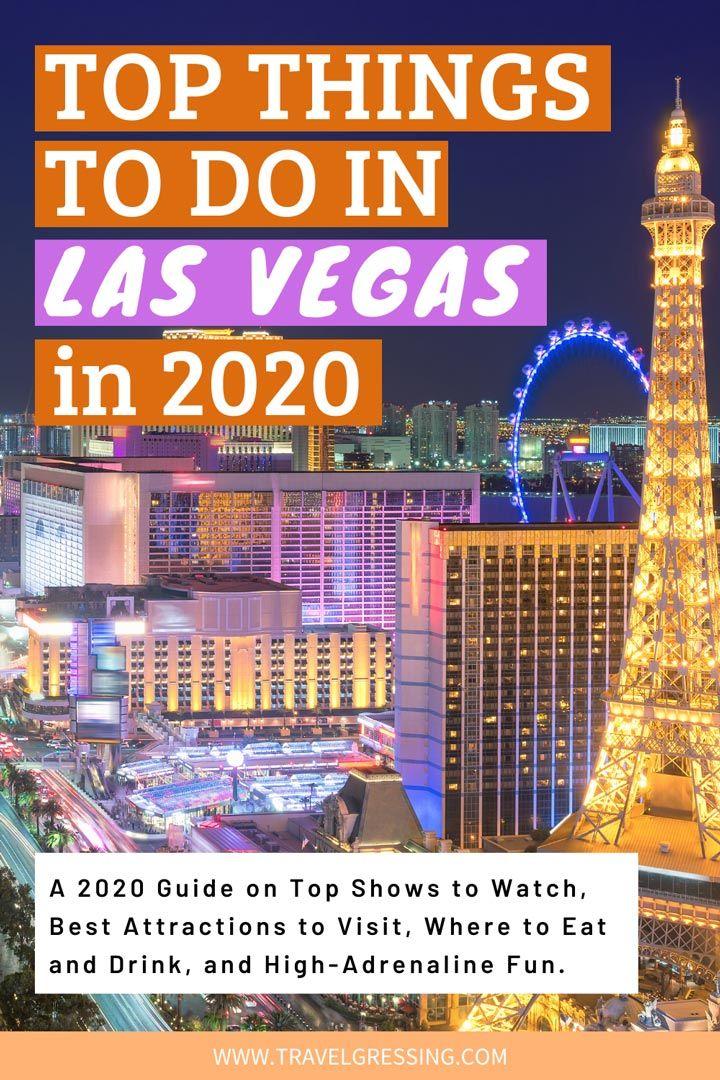 Top Things to Do in Las Vegas in 2020 in 2020 Las vegas