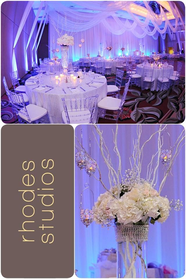 Check Out This Stunning Winter Wonderland Themed Wedding At The