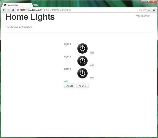 pi gpio home automation
