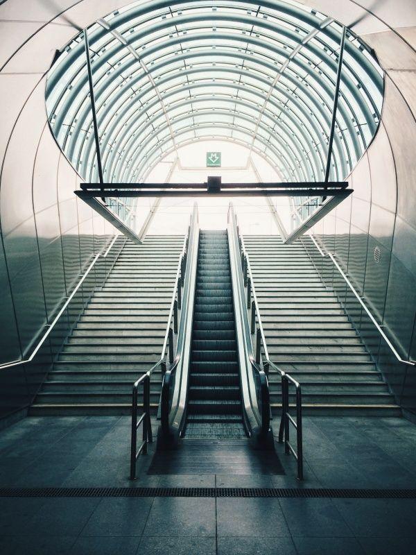 Hradcanska metro-station in Prague / photo by Teodorik Mensl