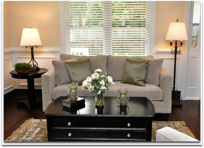 Home Staging - Solutions for Decorating A Small Living Room ...