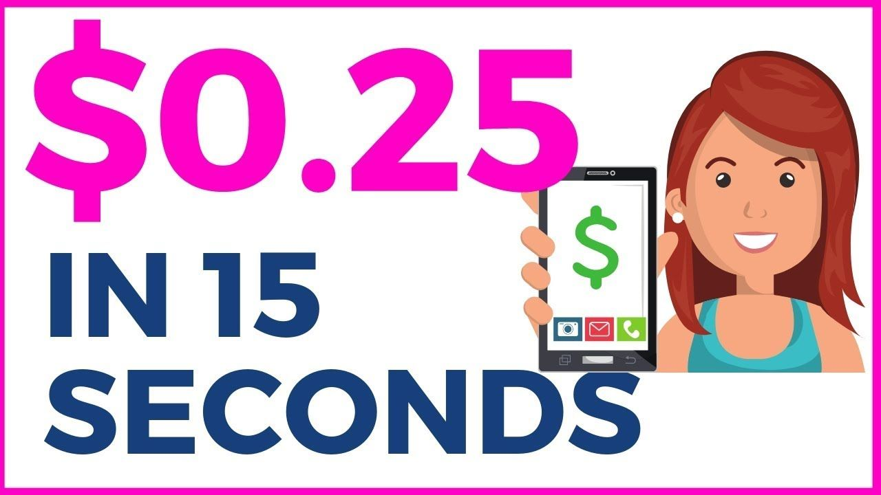 Get Paid 0.25 In 15 SECONDS (FREE PayPal Money App