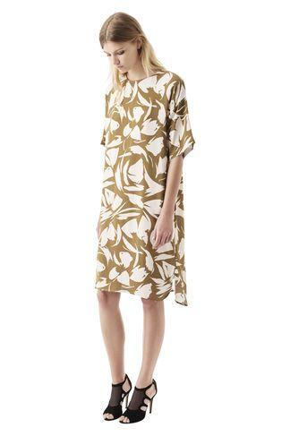 ganni wilson kjole
