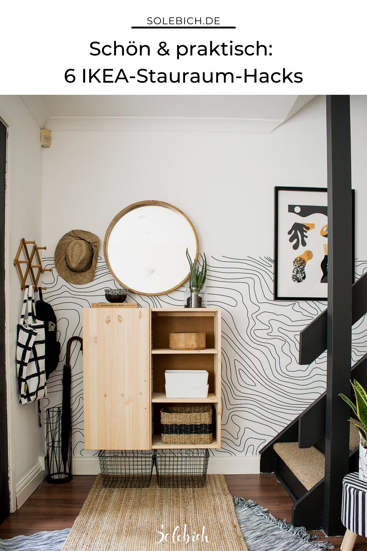 6 Praktische Ikea Hacks Fur Den Flur Living Room Entrance Ideas