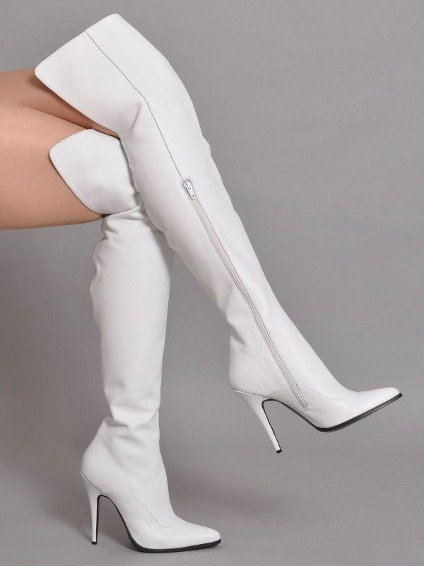 Damen Overknees Leicht Gefütterte Stiefel Stiletto Schuhe  835949 Trendy Neu