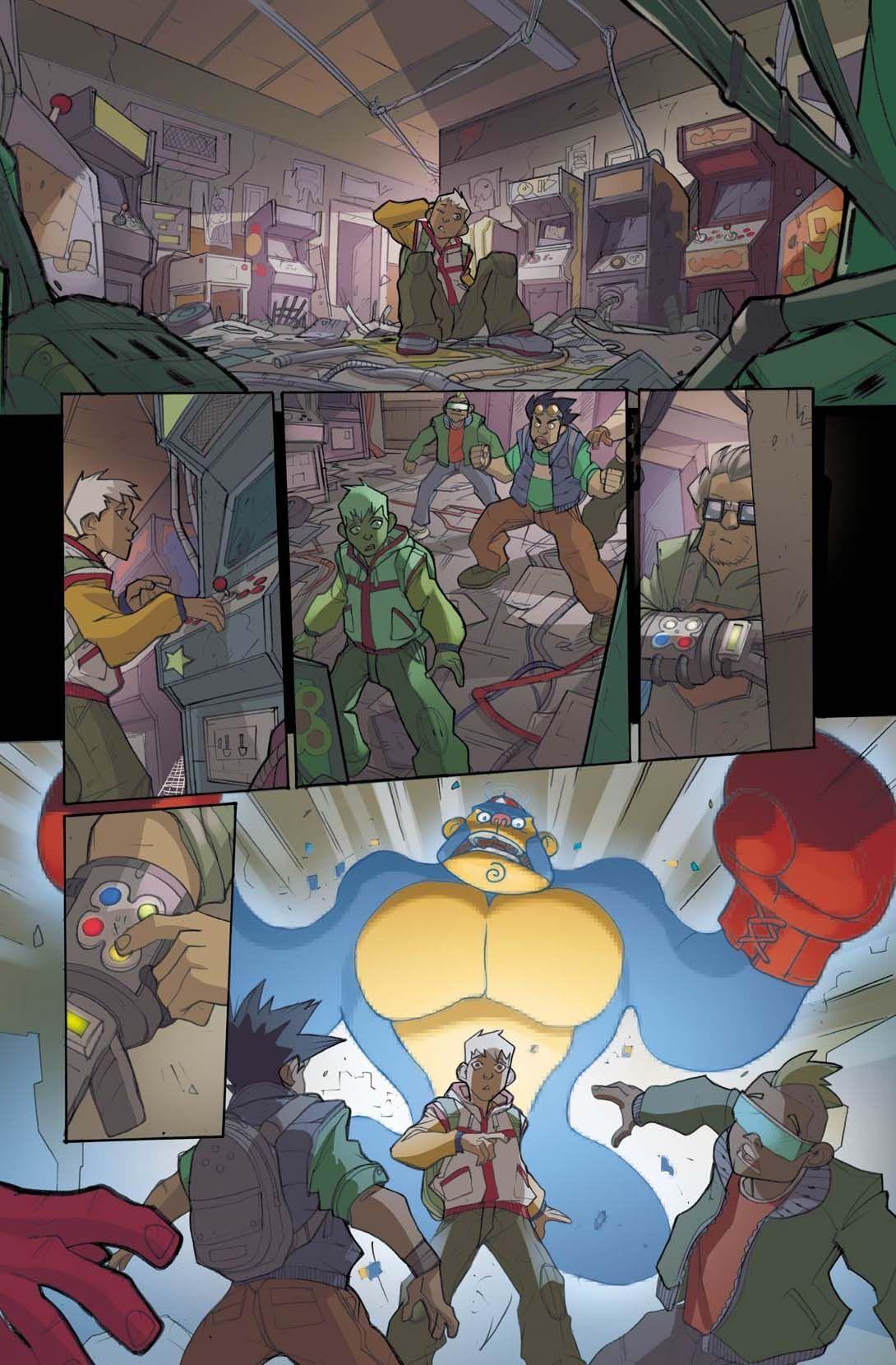 Arcade Boy #1 - page 8
