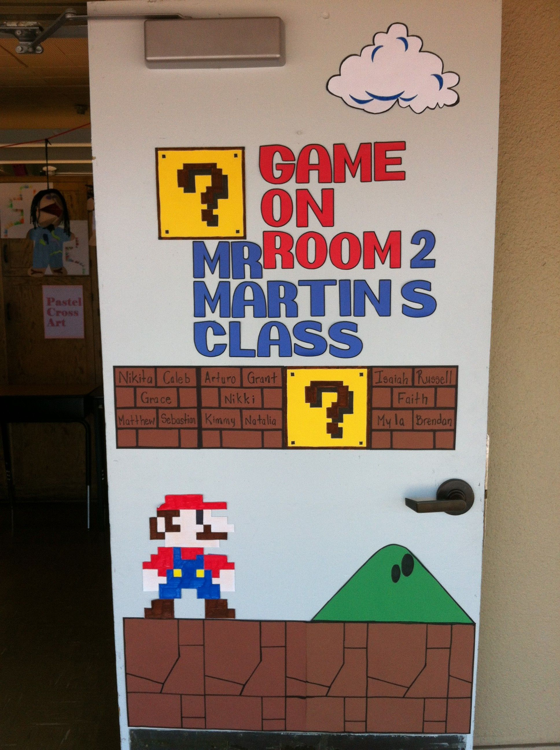 Cartoon classroom door - My Classroom Door Probably The Thing I M The Most Proud Of This Year