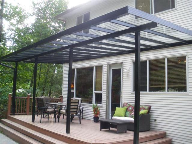 Cubiertas de terrazas de alumunio modernas simple - Deco De ...