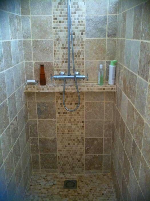 Etagere pour douche italienne sur le th me niche de douche douche l 39 italienne pinterest - Fabriquer une etagere salle de bain ...