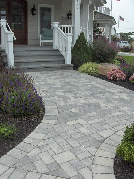 Gray Paver Designs Google Search Outdoor Living Space