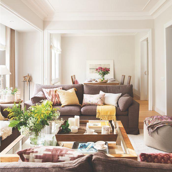 el piso de los milímetros | salón, zona d estar | pinterest | el