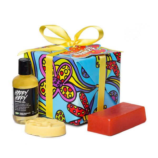 Bright and Breezy Gift - Keep things bright and breezy with this collection of citrusy shower and body indulgences.