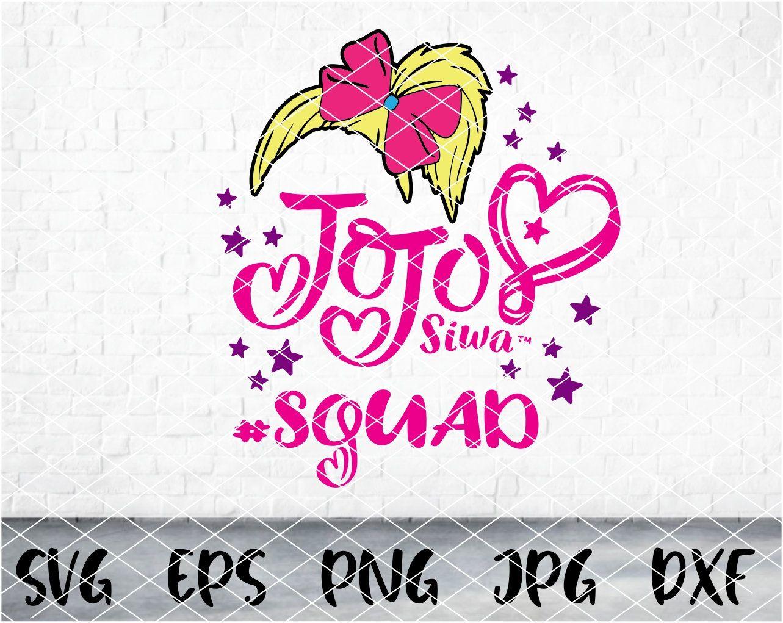 Jojo Siwa Svg Jojo Siwa Squad Jojo Siwa Logo Svg Jojo Siwa Birthday Jojo Svg Jojosiwa Di In 2021 Jojo Siwa Birthday Jojo Siwa Svg