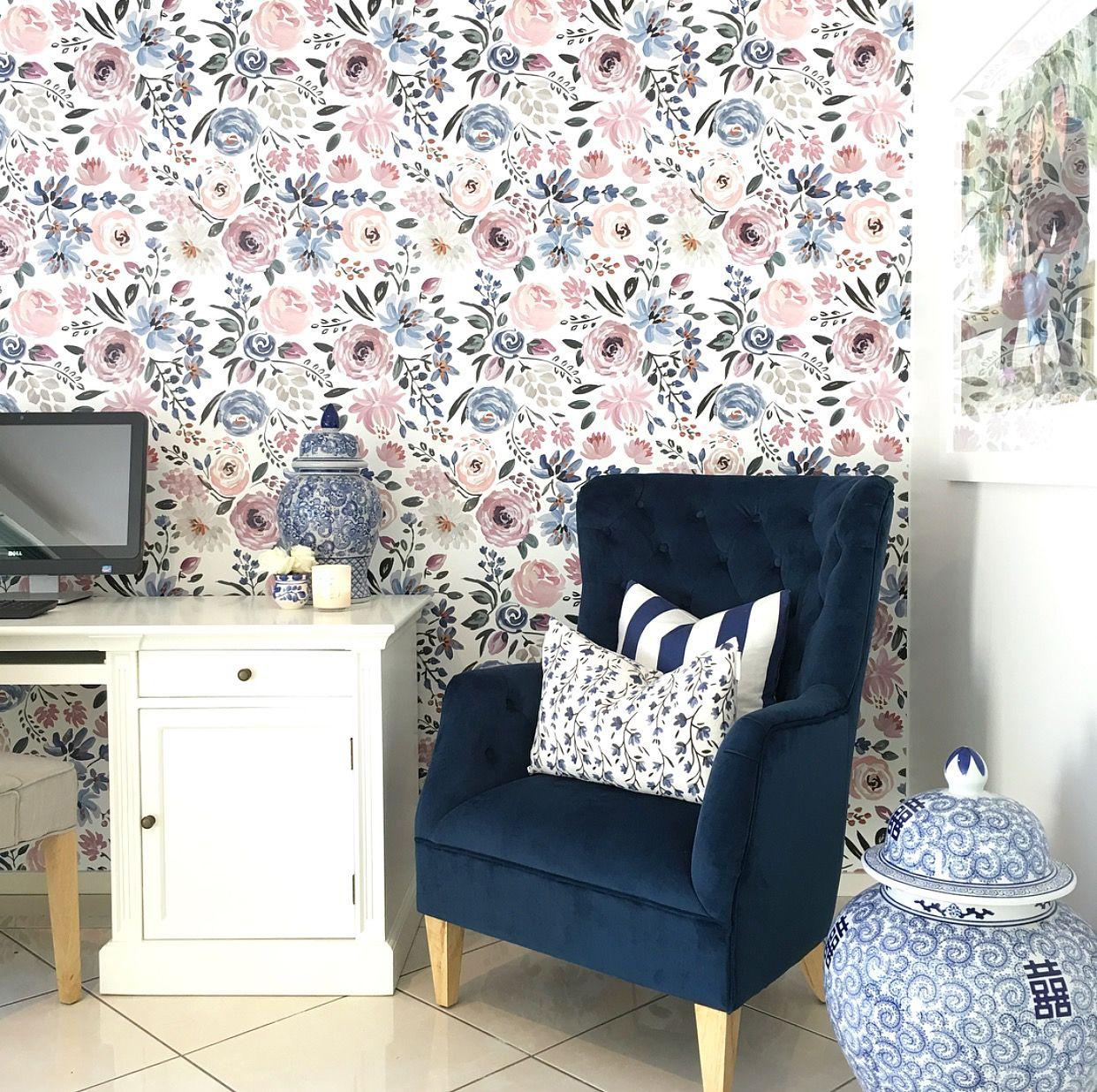 English Garden wallpaper by Caitlin Wilson Design. Perfect