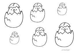 Kleurplaten Dieren Uit Een Ei.Afbeeldingsresultaat Voor Kleurplaat Kuikentje Uit Ei Pasen