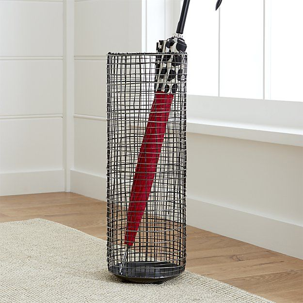 chelsea umbrella stand crate and