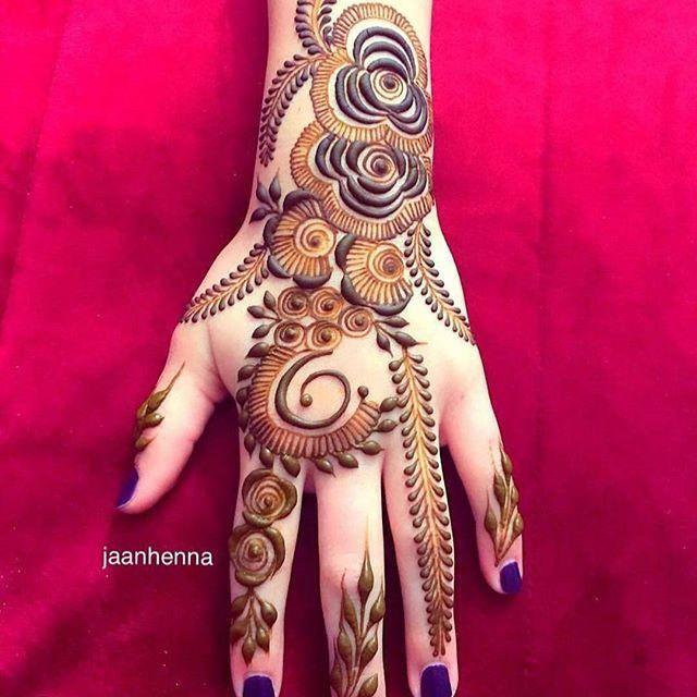 Mehndi Designs Easy For Girls Valoblogi Com