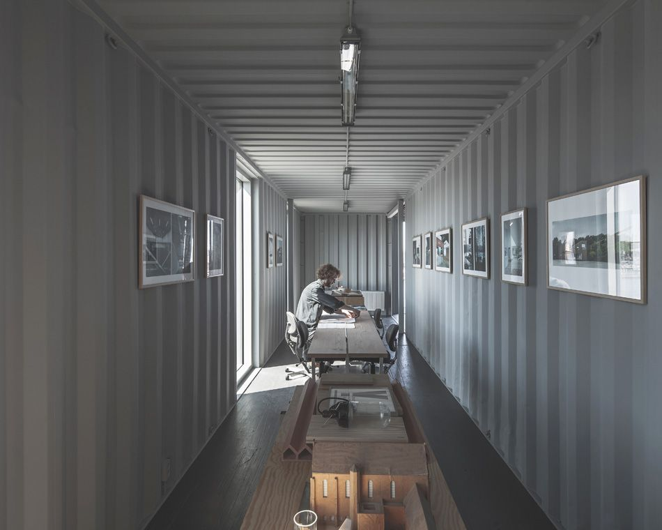 Delightful The Arcgency Pop Up Shipping Container Offices