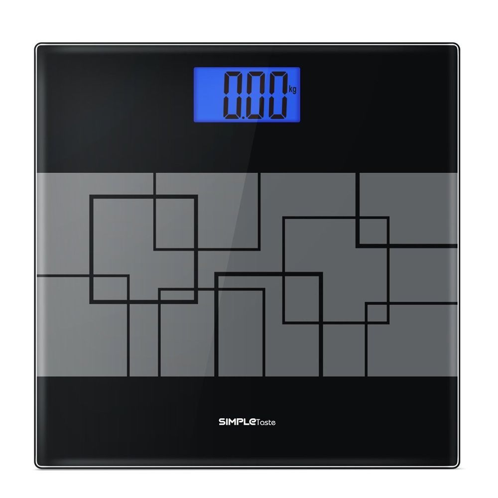 Beau Body Weight Scale Digital Bathroom Fat Health Monitoring LCD Display 400 Lb  #Simple