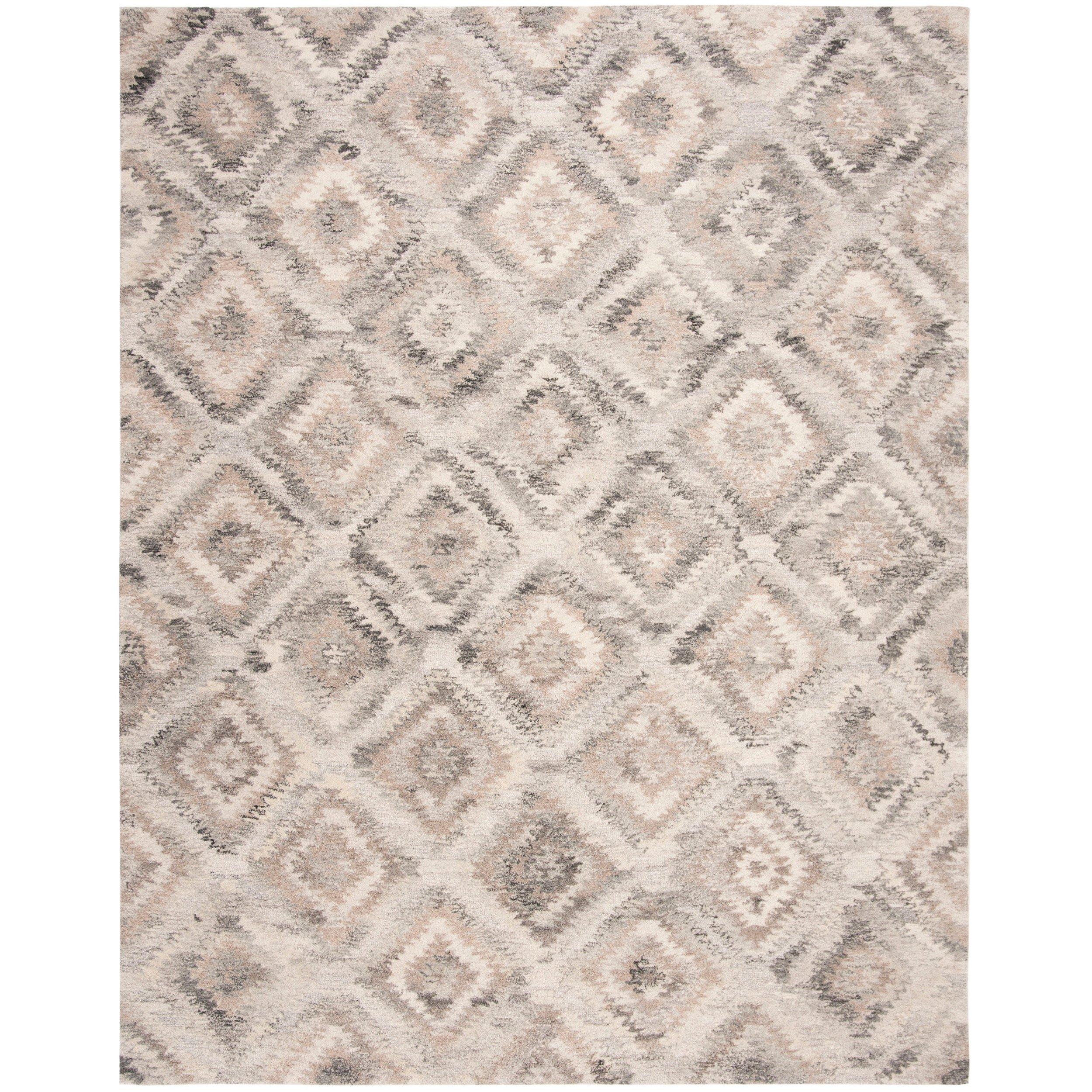 Safavieh Handmade Wyndham Modern Contemporary Grey Taupe Wool