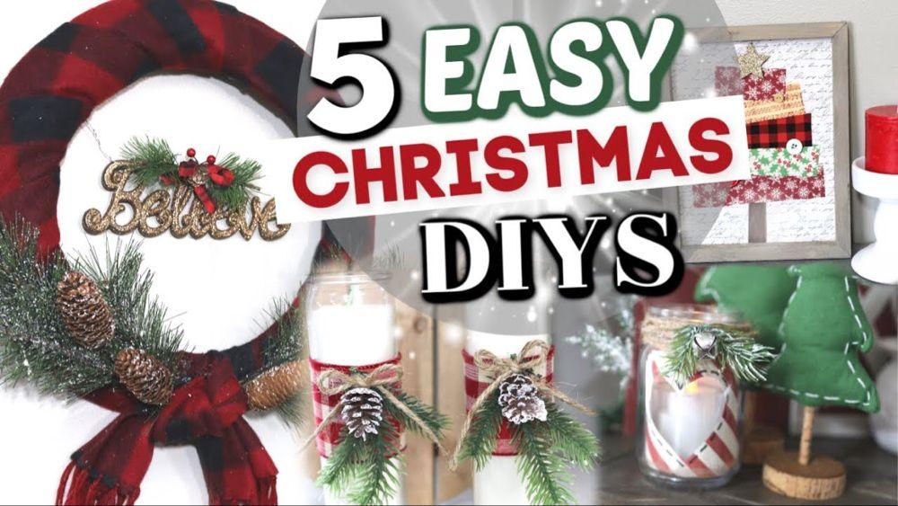 5 Dollar Tree Christmas Decor Projects Diy Dollar Store Christmas Decor Kra Dollar Tree Christmas Decor Dollar Tree Christmas Dollar Store Christmas Crafts