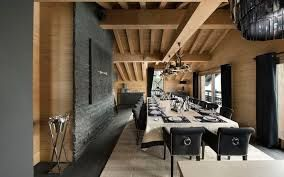 Image result for alpine ski chalet interiors mountain places